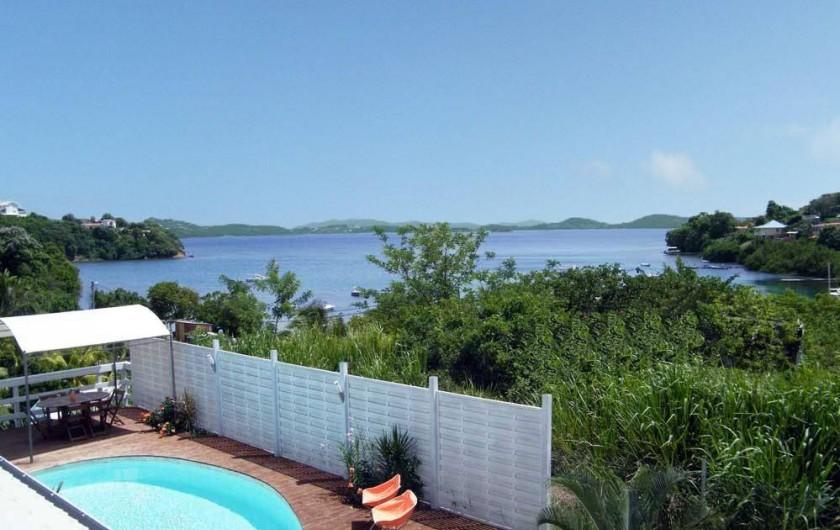 Location de vacances - Villa à Le Robert - La vue de la chambre 3