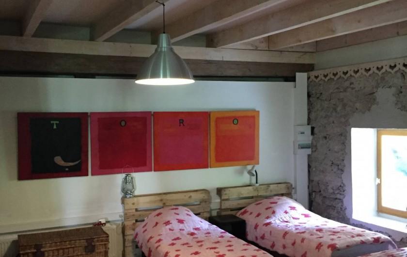 Location de vacances - Appartement à Thorens-Glières - 3 ème chambre pour  4 enfants ou un couple