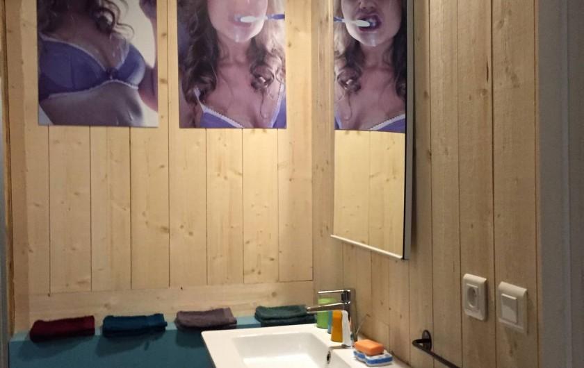 Location de vacances - Appartement à Thorens-Glières - Salle de bain