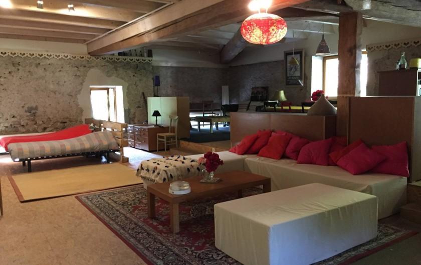Location de vacances - Appartement à Thorens-Glières - 2 ème salon