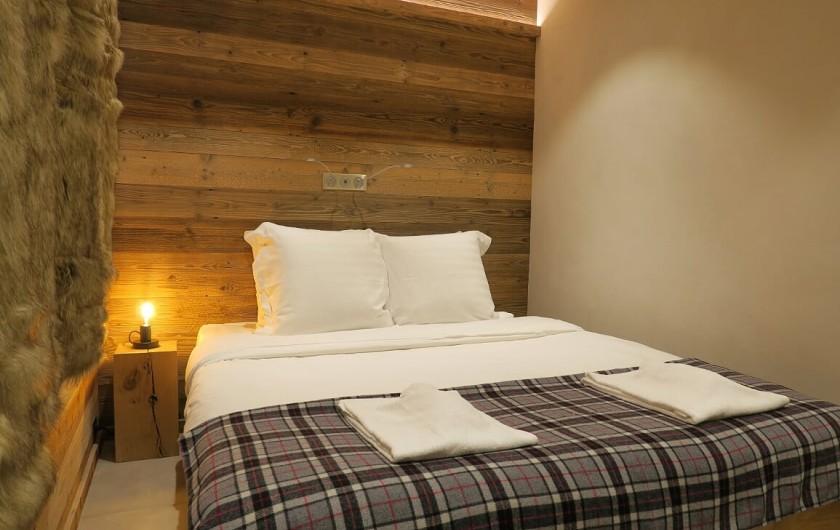 Location de vacances - Appartement à Les Gets - Chambre 4 - Lit double