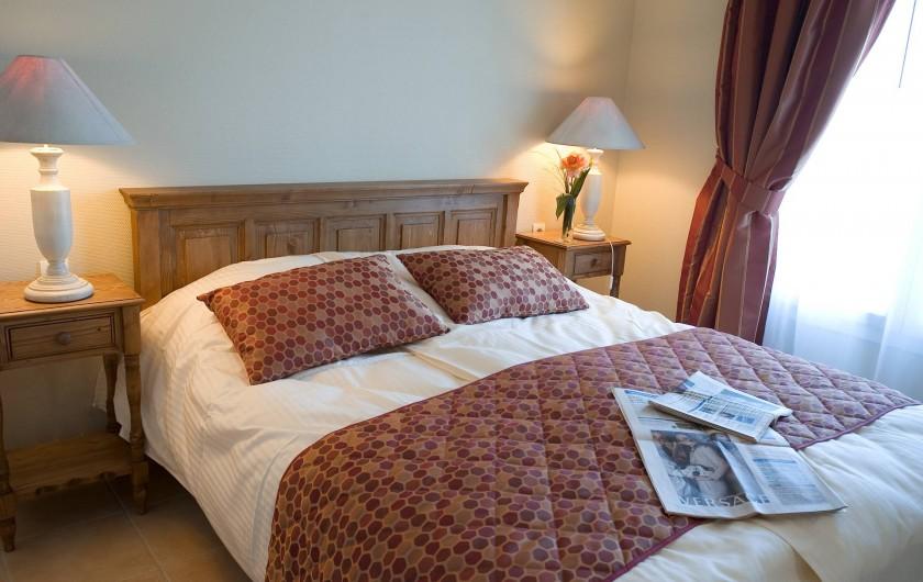 Location de vacances - Appartement à Cabourg - Chambre Côté Port