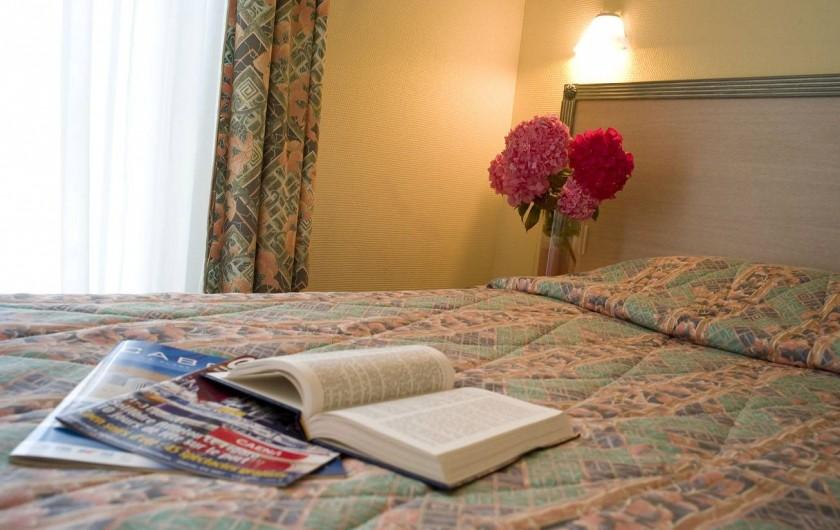 Location de vacances - Appartement à Cabourg - Chambre Appartement Confort