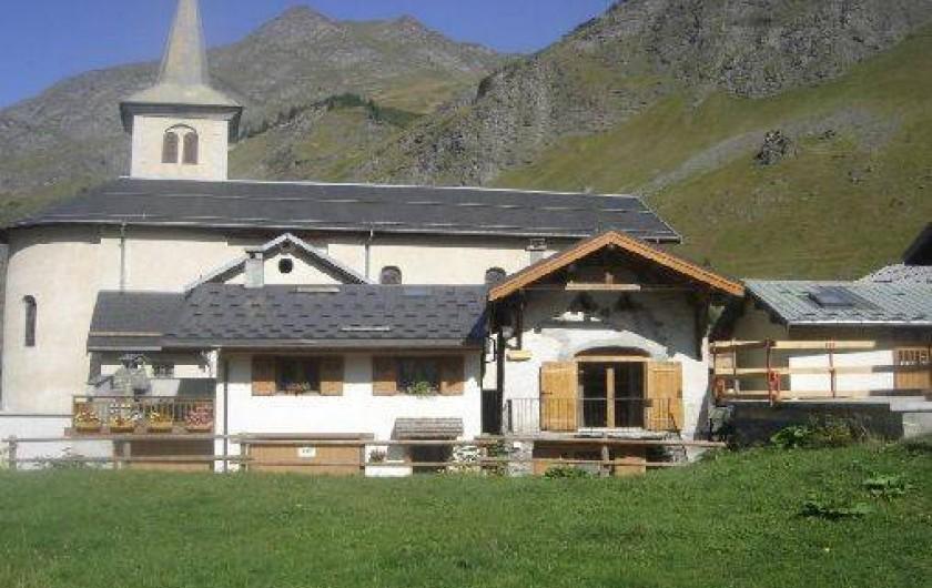 Location de vacances - Gîte à Champagny-en-Vanoise