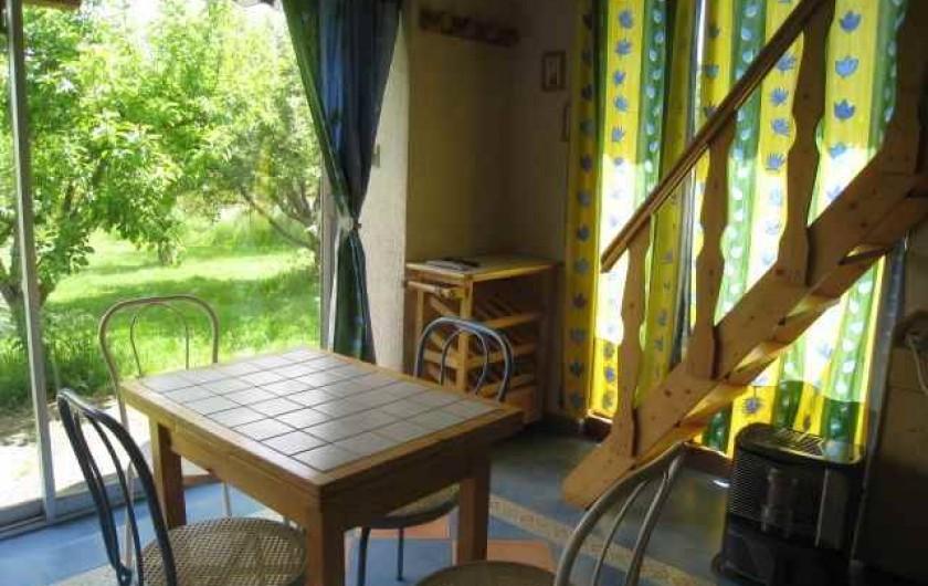 Location de vacances - Villa à Gouttières - Déjeuner face à la nature