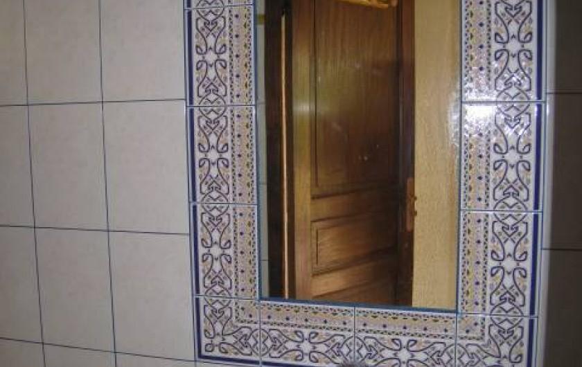 Location de vacances - Villa à Gouttières - Cabinet de toilette
