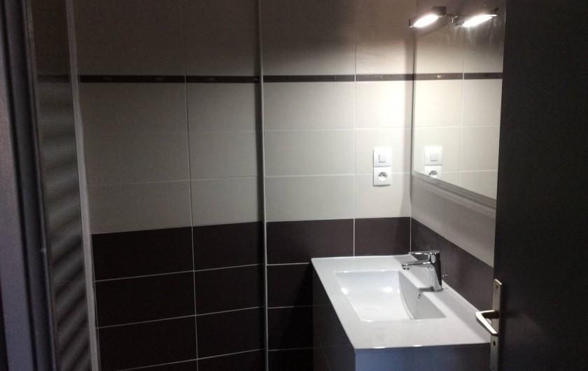 Location de vacances - Appartement à Amélie-les-Bains-Palalda - salle de bain