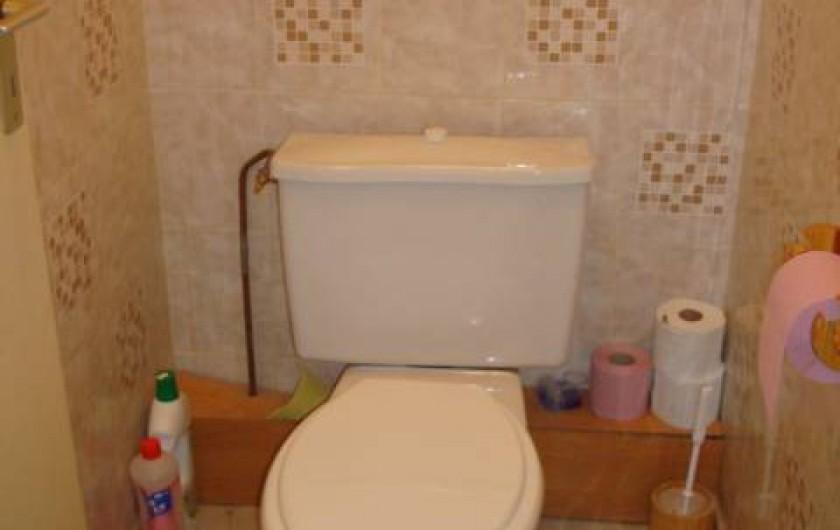 Location de vacances - Appartement à Amélie-les-Bains-Palalda - WC