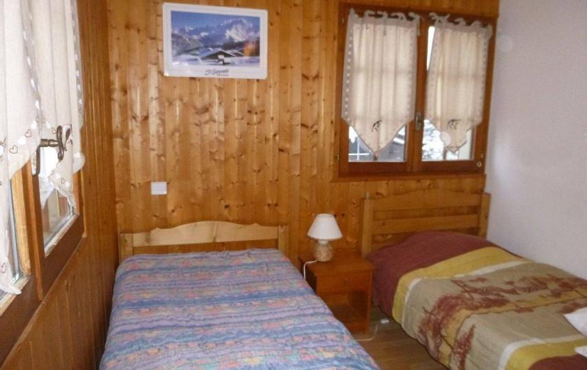 Location de vacances - Appartement à Le Bettex