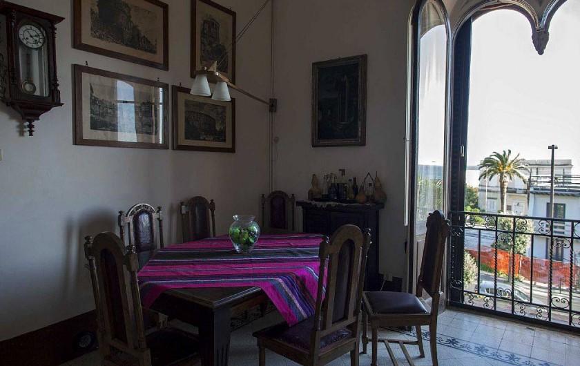 Location de vacances - Appartement à Santa Marinella - salle à manger