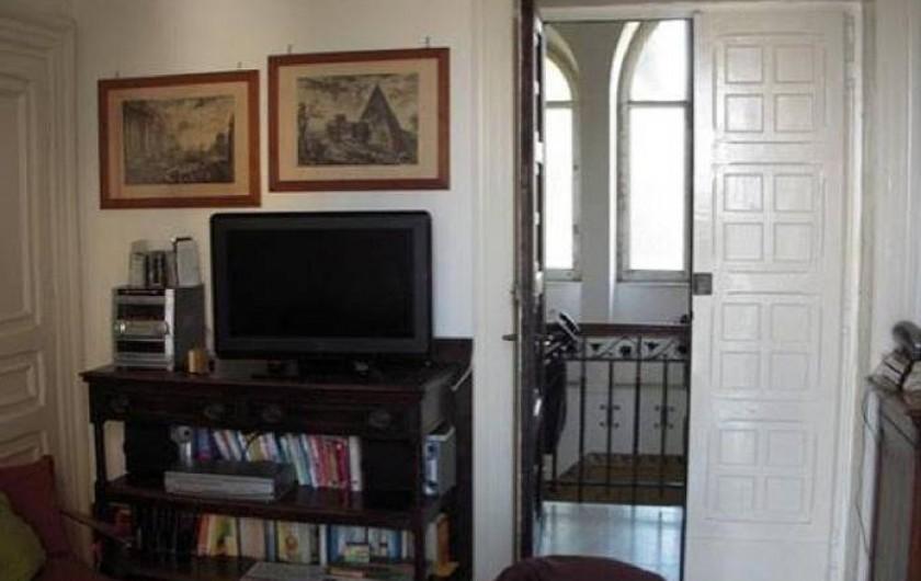 Location de vacances - Appartement à Santa Marinella - entrée de l'appartement