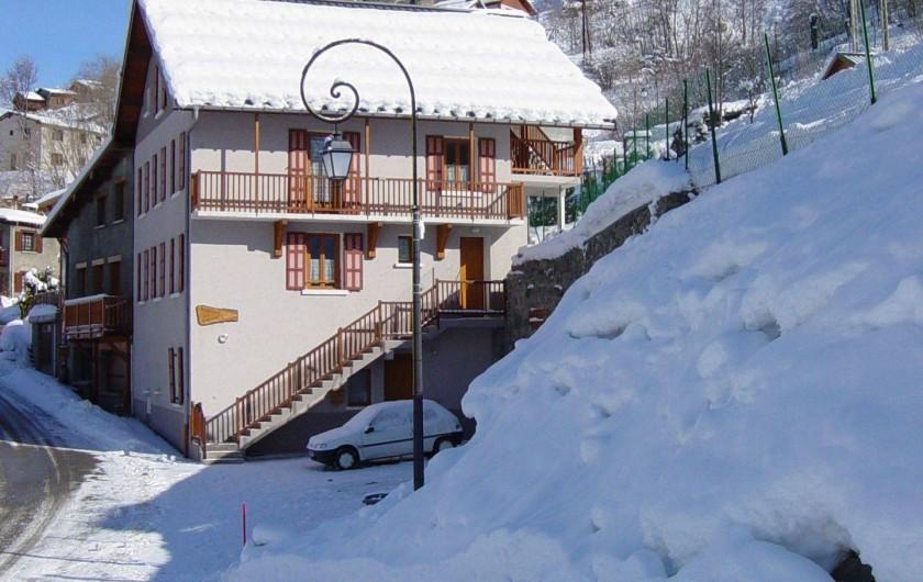 Location de vacances - Gîte à Valmeinier - Le Chalet