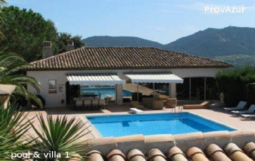 Location de vacances - Villa à Le Plan-de-la-Tour