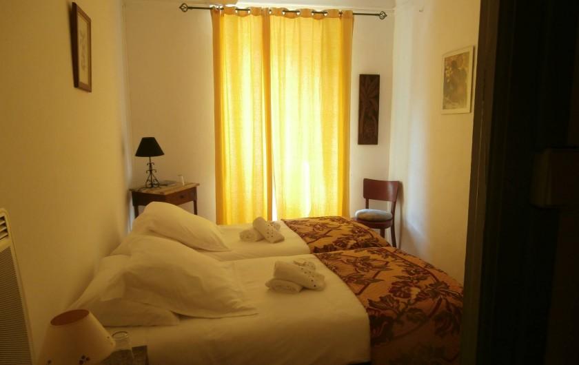 Location de vacances - Chambre d'hôtes à Bouyon - CHAMBRE UGOLIN 2 PERSONNES 50 €/NUIT