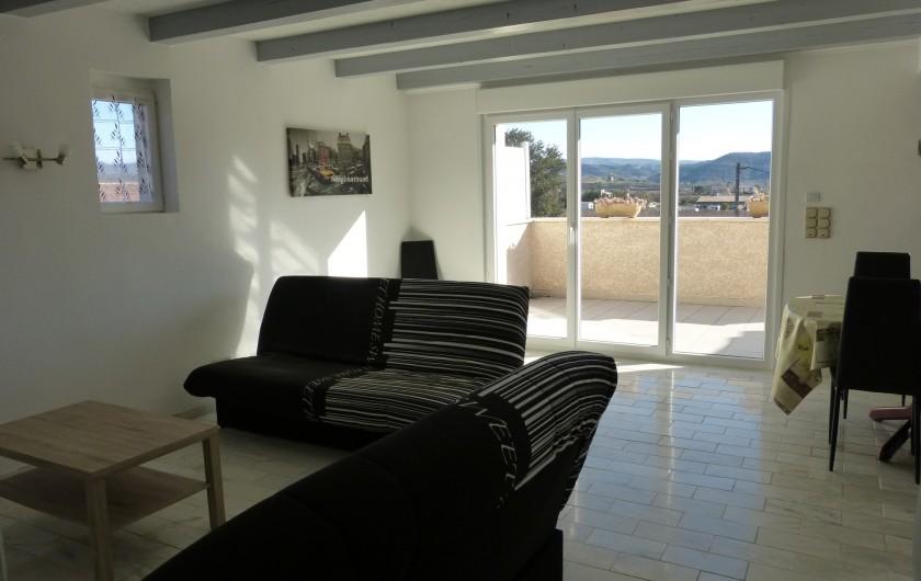 Location de vacances - Villa à Lavilledieu - Séjour