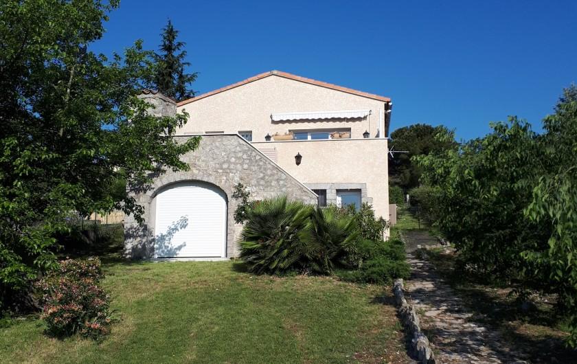 Location de vacances - Villa à Lavilledieu - Maison individuelle