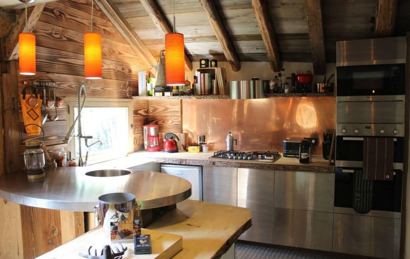Location de vacances - Chalet à Saint-Gervais-les-Bains - Cuisine