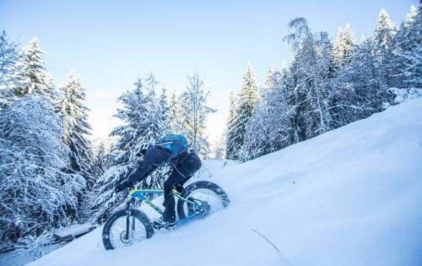 Location de vacances - Chalet à Saint-Gervais-les-Bains - fat bikes
