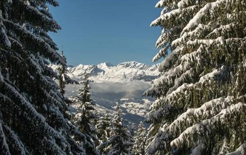 """Location de vacances - Chalet à Saint-Gervais-les-Bains - Chaine d""""aravis"""