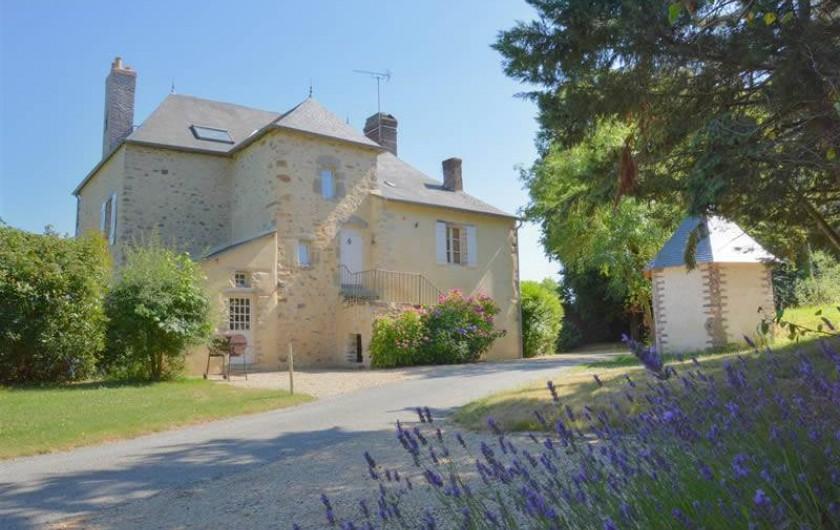 Location de vacances - Gîte à La Baconnière - Façade Nord