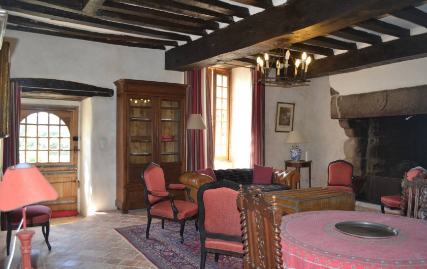 Location de vacances - Gîte à La Baconnière - Salon