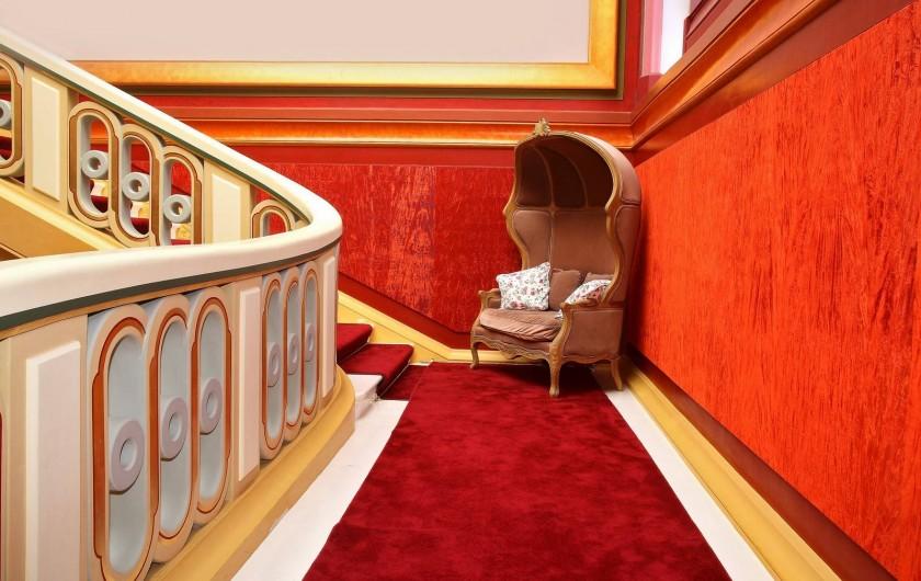 Location de vacances - Chambre d'hôtes à Sixt-sur-Aff - Le Grand escalier