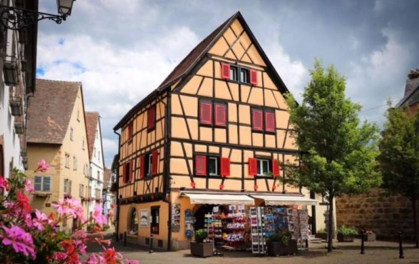 Location de vacances - Appartement à Eguisheim - pour votre accueille rendez vous dans notre boutique à Eguisheim