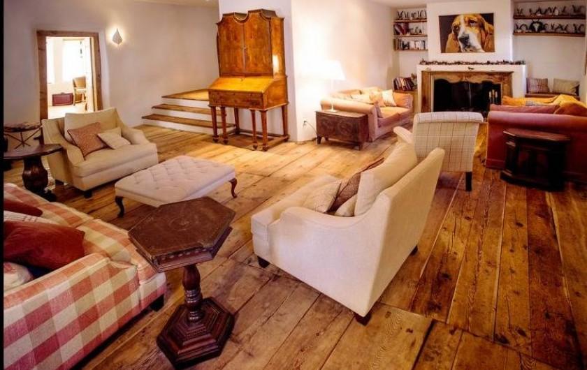 Location de vacances - Chalet à La Punt-Chamues-ch - Ancien Suler, salon
