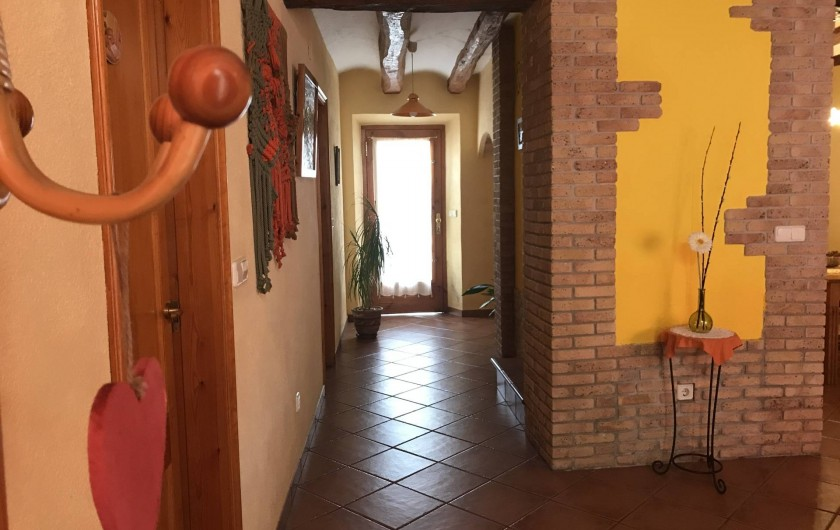 Location de vacances - Gîte à Puigdàlber - pasillo 1ª planta