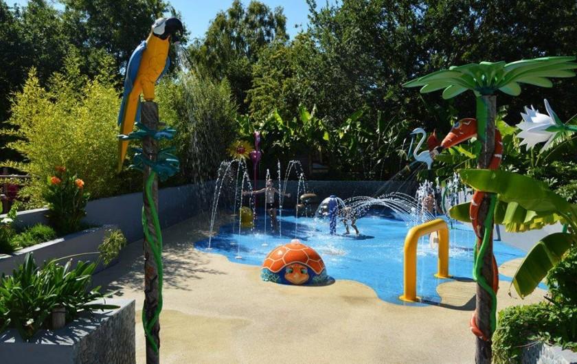 Location de vacances - Bungalow - Mobilhome à Mézos - L'AQUATOON  JEU D'EAU TROPICAL