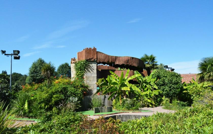 Location de vacances - Bungalow - Mobilhome à Mézos - TOBOGGAN AQUATIQUE DU VILLAGE TROPICAL SEN-YAN