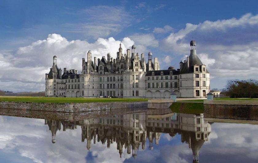 Location de vacances - Gîte à Chambord - Château de Chambord, classé au patrimoine mondial de l'UNESCO