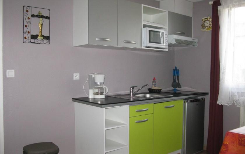 Location de vacances - Hôtel - Auberge à La Cabanasse - Appartement cuisine