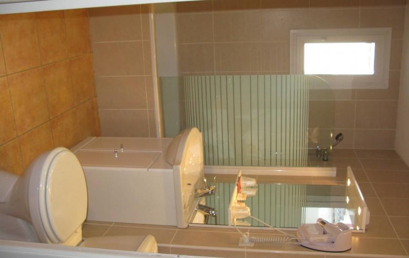 Location de vacances - Hôtel - Auberge à La Cabanasse - Appartement salle de bain