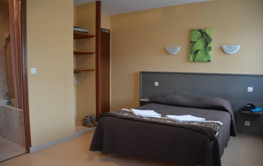 Location de vacances - Hôtel - Auberge à La Cabanasse - Chambre double