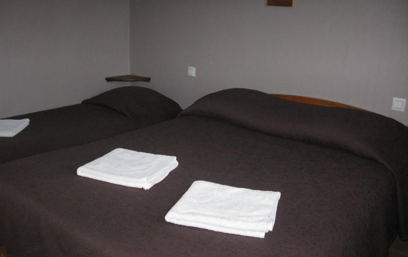 Location de vacances - Hôtel - Auberge à La Cabanasse - Appartement chambre