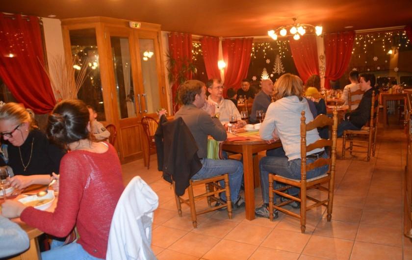 Location de vacances - Hôtel - Auberge à La Cabanasse - Salle de restaurant