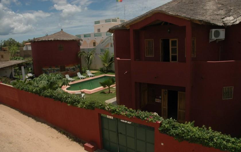 Location de vacances - Chambre d'hôtes à Saly - La propriété