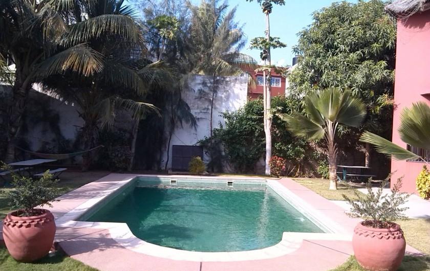 Location de vacances - Chambre d'hôtes à Saly - Piscine