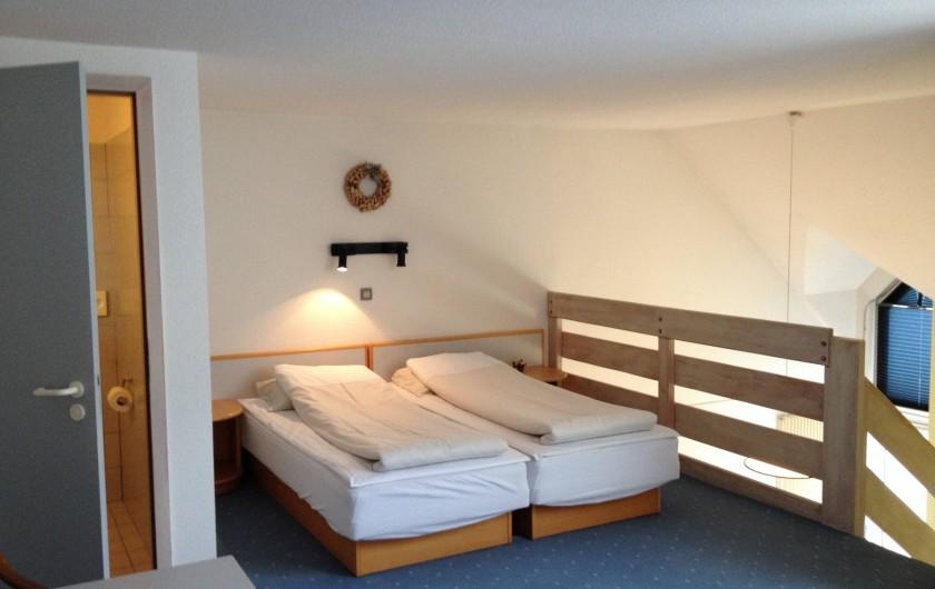 Location de vacances - Hôtel - Auberge à Husseren-les-Châteaux - Chambres en Duplex (haut)