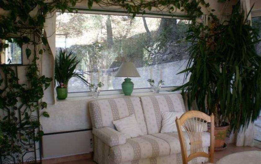 Location de vacances - Villa à Les Figons - le salon d'hiver