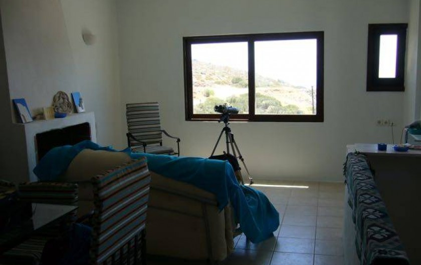 Location de vacances - Villa à Elounda - living room