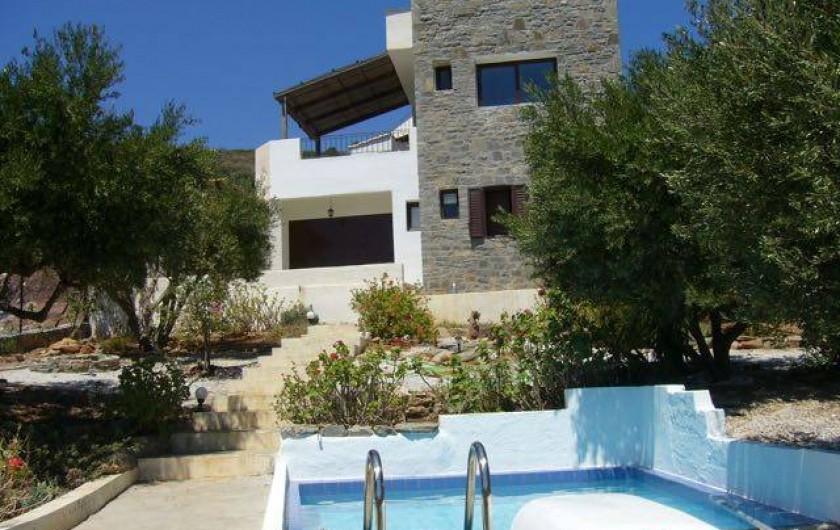 Location de vacances - Villa à Elounda - house