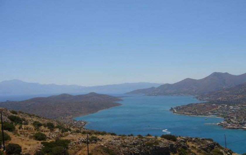 Location de vacances - Villa à Elounda - View from the house