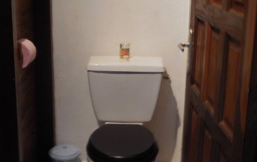 Location de vacances - Gîte à Deshaies - le WC