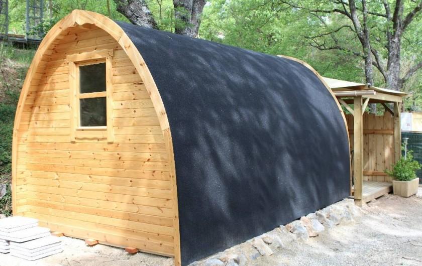 Location de vacances - Camping à Bauduen - Pod cabane pour 2 personnes
