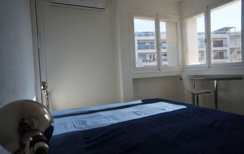 Location de vacances - Appartement à Cannes - Chambre 1