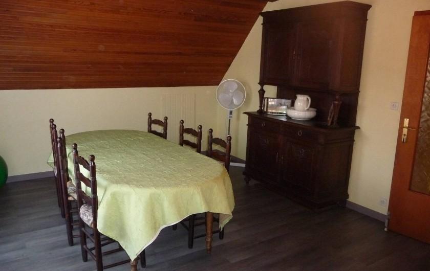 Location de vacances - Appartement à Saint-Martin - Salle à manger