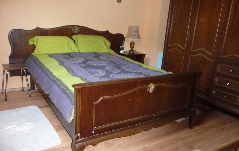 Location de vacances - Appartement à Saint-Martin - Chambre double + lit bébé