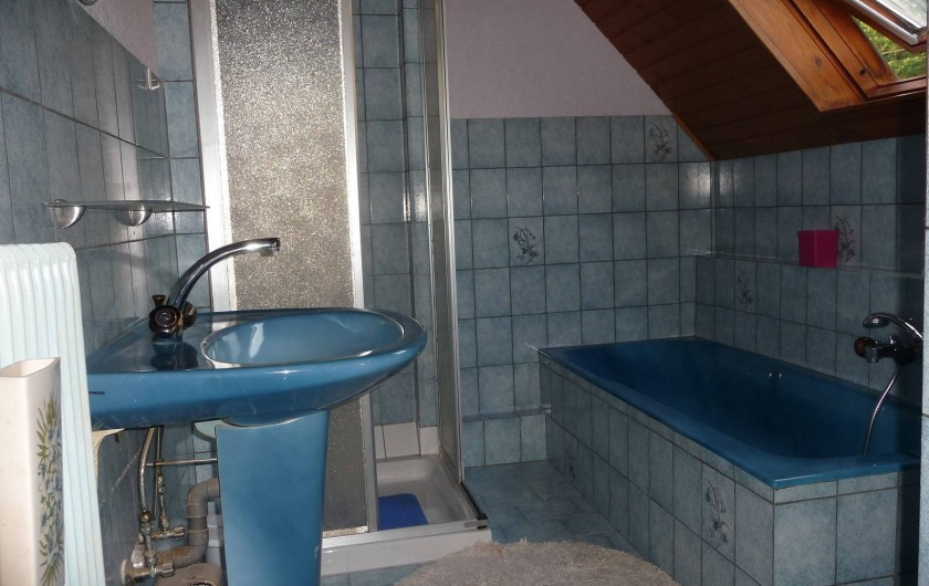 Location de vacances - Appartement à Saint-Martin - Salle de bain